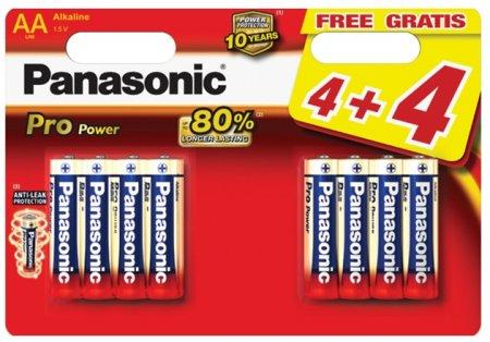 Fotografie Panasonic Pro Power AA, 4+4 ks
