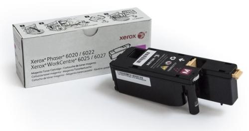 Xerox 106R02761 pro tiskárny Phaser 6020/6022, WorkCentre 6025/6027 1000 str. - magenta