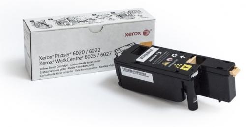 Xerox 106R02761 pro tiskárny Phaser 6020/6022, WorkCentre 6025/6027 1000 str. žlutý