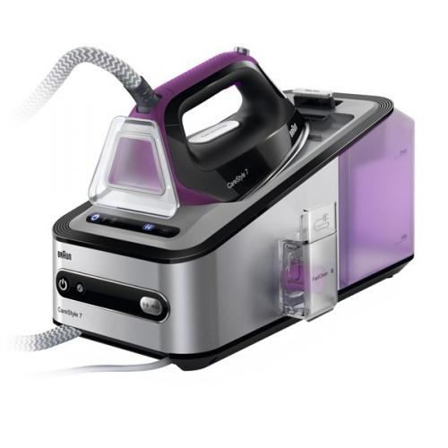 Žehlicí systém Braun CareStyle 7 IS7144BK černá/stříbrná/fialová + dárky + DOPRAVA ZDARMA