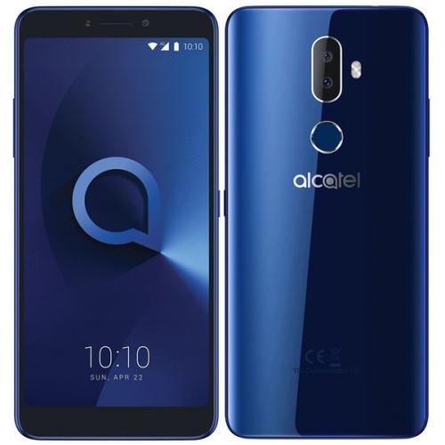 Mobilní telefon ALCATEL 3V modrý + dárek
