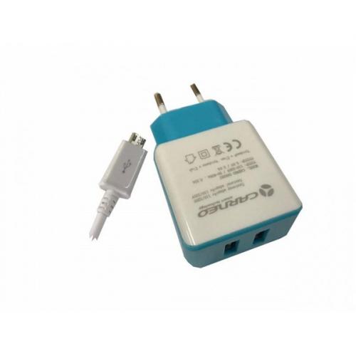 Carneo DA02EU + micro USB kabel, 2A
