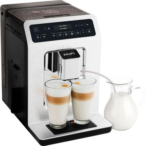 Espresso Krups Evidence EA890C10 kovové + DOPRAVA ZDARMA