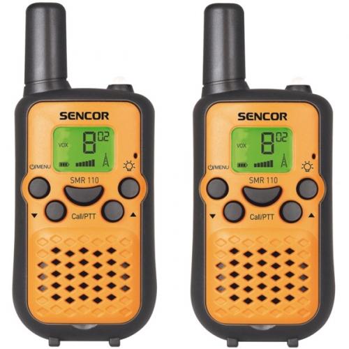 Sencor SMR 110 TWIN žlutá