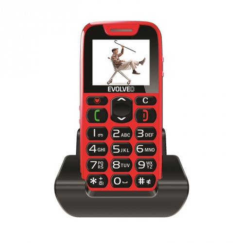 Evolveo EasyPhone EP-500 červený