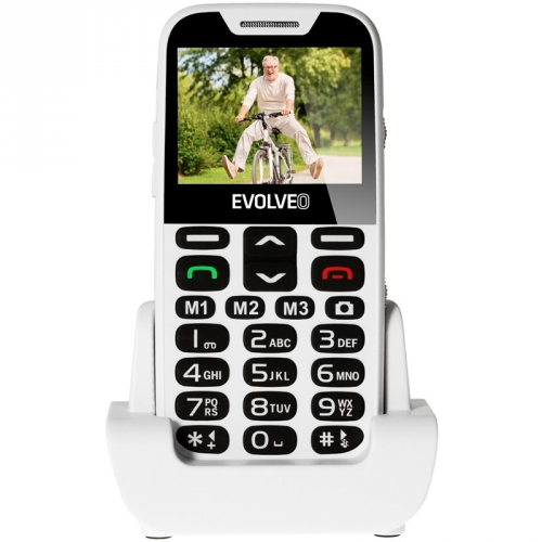 Evolveo EVOLVEO EasyPhone XD pro seniory bílý