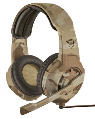Headset Trust GXT Gaming 310C Radius - Desert