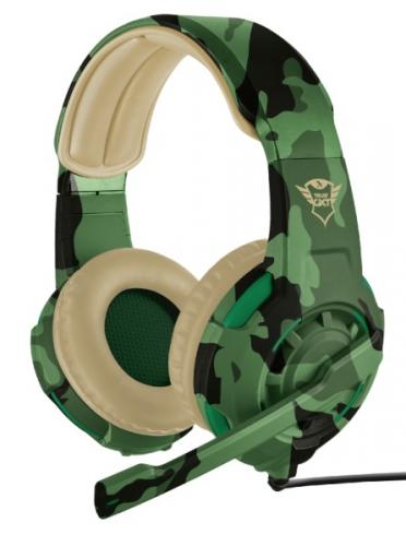 Headset Trust GXT Gaming 310C Radius - Jungle