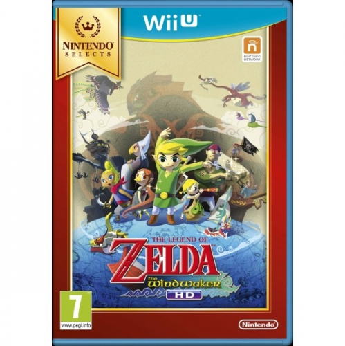 Nintendo WiiU The Legend of Zelda:The Wind Waker HD Selects