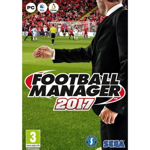 Hra Sega PC Football Manager 2017 Limited Edition