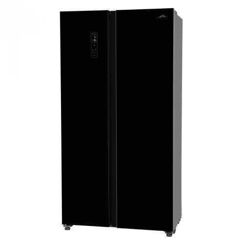 Americká lednice ETA 138990020 černá + DOPRAVA ZDARMA
