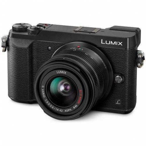Digitální fotoaparát Panasonic Lumix DMC-GX80 + 14-42 černý