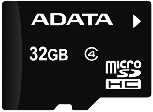 ADATA microSDHC karta 32GB Class 4 + USB čtečka v3