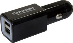 Camelion CL Car Charger DD801, USB, 2 000 mAh černý