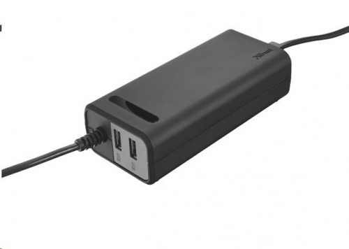 Trust pro notebooky Duo 90W, 2 USB