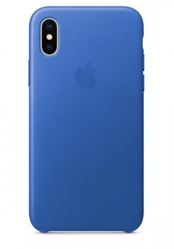 Apple iPhone X - elektro modrý