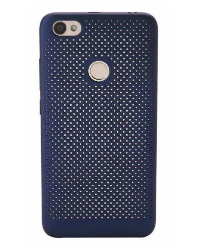 Fotografie Xiaomi Redmi Note 5A Prime Perforated Case(fingerprint access)blue (17184)