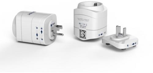 Travel Blue TBU-945 pro použití v USA, + 2x USB nabíječka