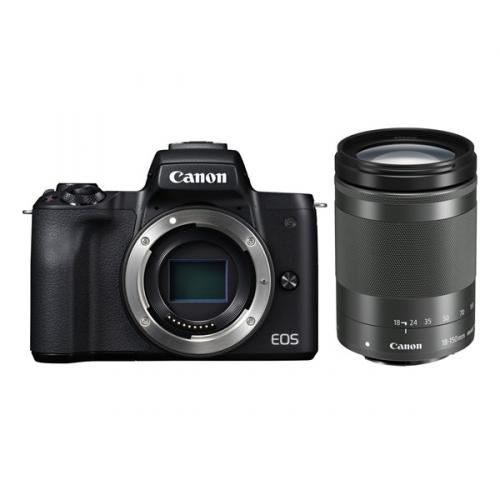 Digitální fotoaparát Canon EOS M50 + M 18-150 IS STM černý