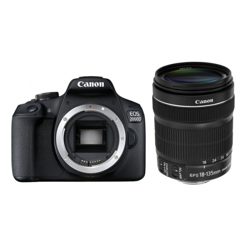 Canon 2000D + 18-135 IS STM