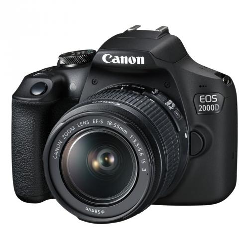 Canon 2000D + 18-55 IS II + 50 1.8 S + dárek