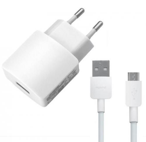 Huawei HW-050200E01W + micro USB kabel, 2A (bulk)