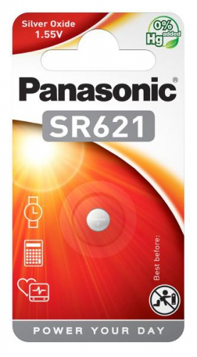 Baterie Panasonic SR621, blistr 1ks