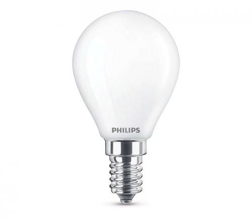 Philips klasik, 4,3W, E14, 4,3W