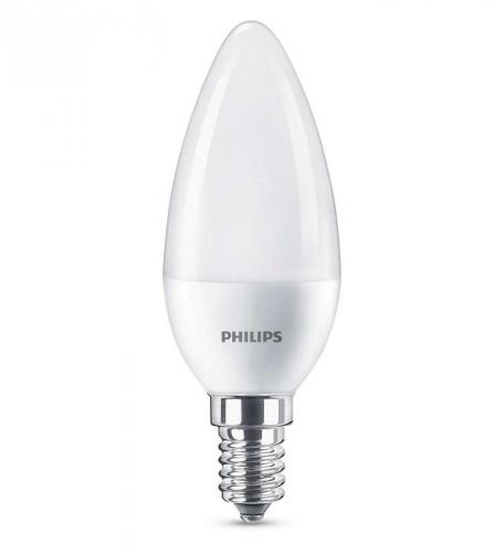 Philips svíčka, 7W, E14, teplá bílá