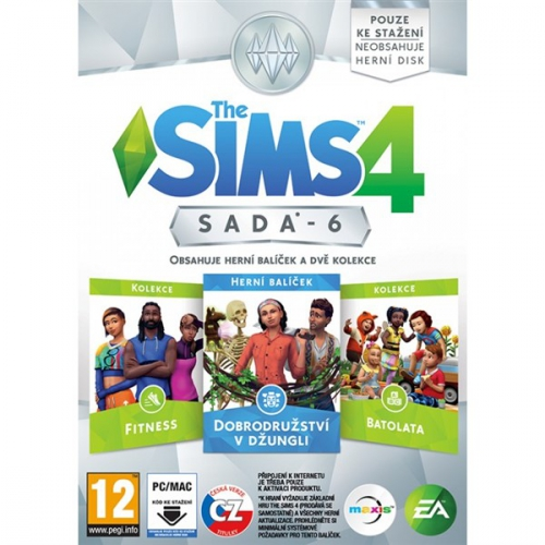 EA PC The Sims 4 Bundle Pack 6