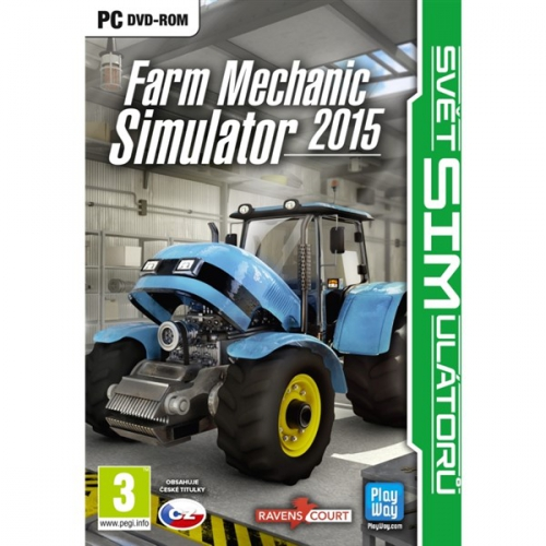 Fotografie CENEGA PC Farm Mechanic Simulator 2015