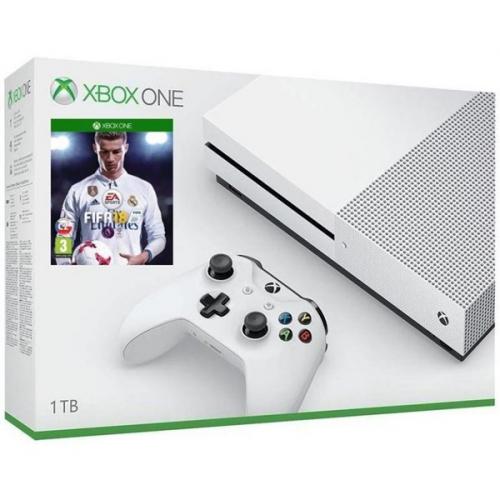 Microsoft Xbox One S, 1TB + FIFA 18