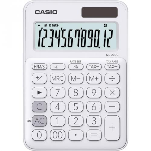 Kalkulačka Casio MS 20 UC WE (451993) bílá