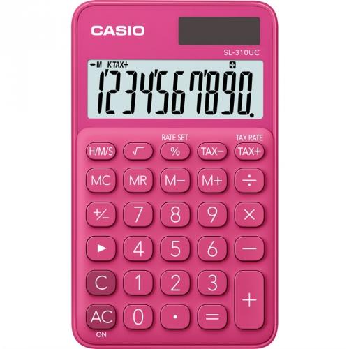 Kalkulačka Casio SL 310 UC RD (452004) červená