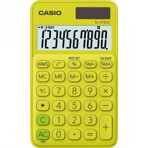 Kalkulačka Casio SL 310 UC YG (452007) žlutá