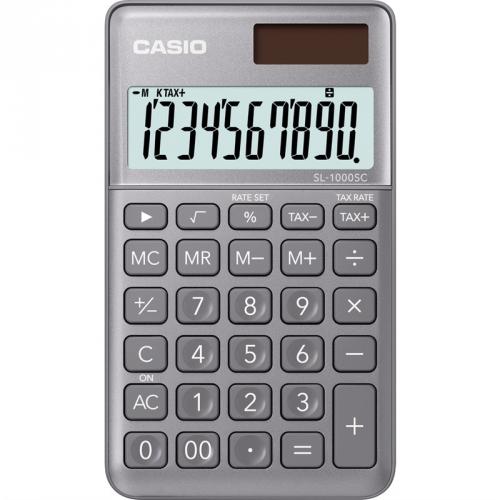 Kalkulačka Casio SL 1000 SC GY (452011) šedá
