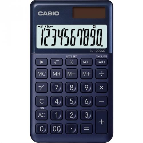 Kalkulačka Casio SL 1000 SC NY - tmavě modrá (452012)