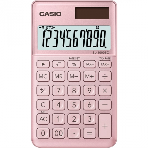 Kalkulačka Casio SL 1000 SC PK (452013) růžová