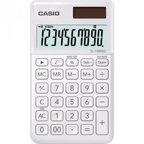 Kalkulačka Casio SL 1000 SC WE (452014) bílá