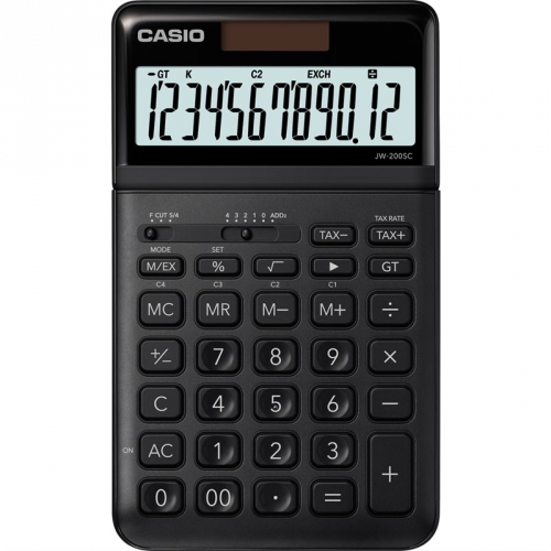 Kalkulačka Casio JW 200SC BK (452015) černá