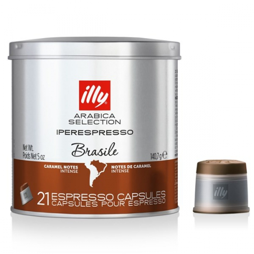 Illy Iperespresso Monoarabica Brazil 21 ks