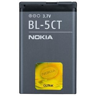 Nokia BL-5CT, 1 050 mAh, Li-Ion, pro Nokia C5-00, 3720c, 6303c, 6730c