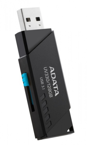 Fotografie Flash USB ADATA UV330, 16 GB, USB 3.1 - černý