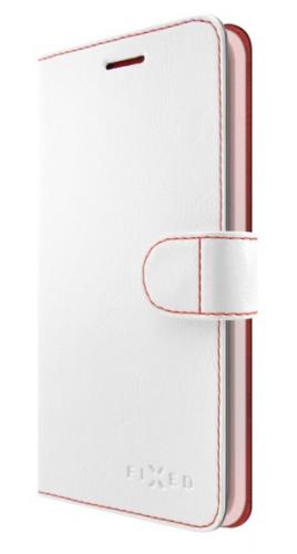 Pouzdro na mobil flipové FIXED FIT pro Xiaomi Redmi 5 Global bílé