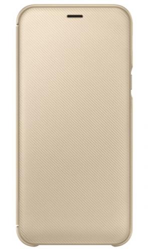 Samsung Wallet Cover pro Galaxy A6 zlaté