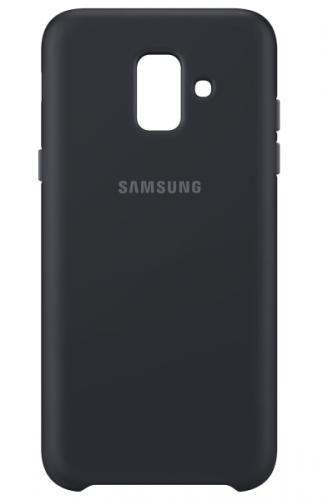 Samsung Silicon Cover pro Galaxy A6 černý