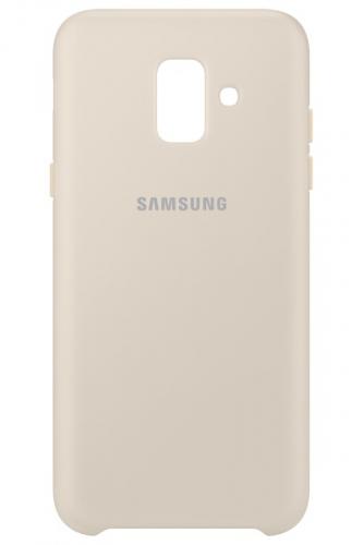 Samsung Silicon Cover pro Galaxy A6 zlatý