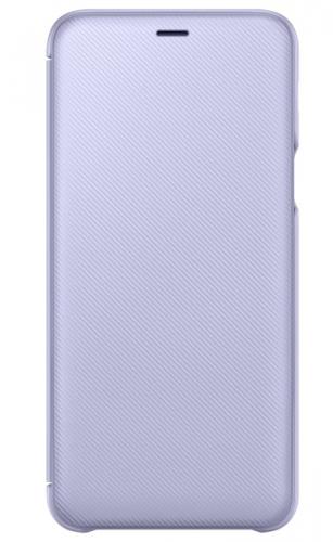 Samsung Wallet Cover pro Galaxy A6+ - levandulová