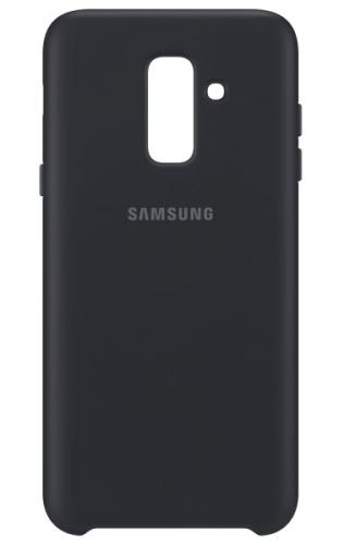 Samsung Silicon Cover pro Galaxy A6+ černý