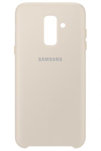 Samsung Silicon Cover pro Galaxy A6+ zlatý